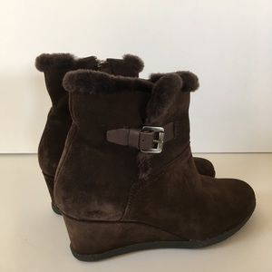 Geox Brown Boots Bootees Size 5